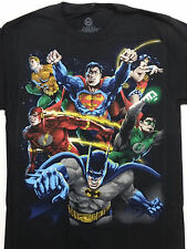 Batman,Superman,Wonder Woman,The Flash,Aquaman,Green Lantern Dc Comics Shirt