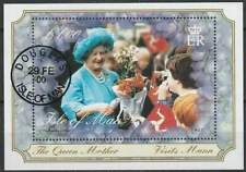 Isle of Man gestempeld 2000 used block 39 - Queen Mother 100 Year (SG337)