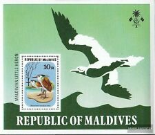 Maldives Block46 unmounted mint / never hinged 1977 Birds