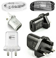 GENUINE ORIGINAL LG MAINS CHARGER ADAPTER & USB DATA CABLE FOR ALL LG MOBILES
