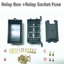 5 Road Relay Socket Fuse Relay Box Relay Holder 6 Car Automotive Insurance