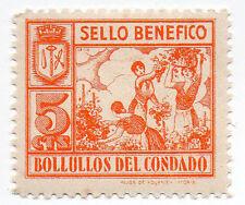 Sello Local Guerra Civil Bollullos del Condado -Cat. Galvez B98.  ORD:1367