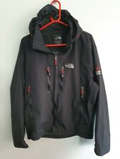 North Face Mens Large Summit Series Waterproof Shell Coat Jacket black