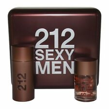 Carolina Herrera 212 Sexy Men Gift Set 100ml Eau De Toilette Spray + 100ml After