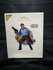 2010 Hallmark Keepsake Ornament Lando Calrissian Star Wars NIB MOB