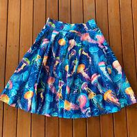 "Betty Le Bonbon Size 14 W31"" Circle Skirt Jellyfish Quirky Kitsch"