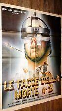 FACE A LA MORT 2  !  affiche cinema fantastique horreur gore  100x140cm