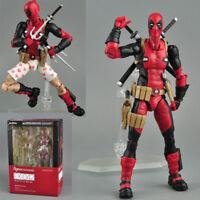Figma EX-42 X-Men Deadpool DX Marvel PVC Action Figure Collection  Movie Toys