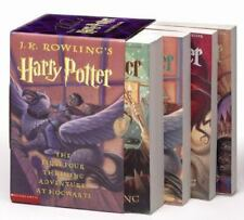 Harry Potter Ser.: Harry Potter Set : Harry Potter and the Sorcerer's Stone; Harry Potter and the Chamber of Secrets; Harry Potter and the Prisoner of Azkaban; Harry Potter and the Goblet of Fire by J. K. Rowling (2002, Trade Paperback)