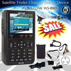 Digital Satellite Signal Finder Meter SATlink WS-6906 DVB-S FTA for SAT Dish Set