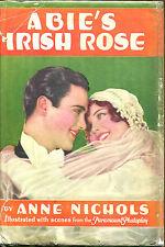 Abie's Irish Rose by Anne Nichols-Grosset & Dunlap Photoplay Edition in DJ-1929