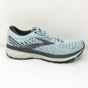 Brooks Womens Ghost 13 1203381B435 Sky Blue Running Shoes Lace Up Size 7.5 B