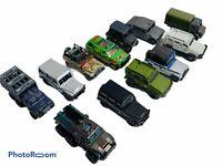 🔥Lot Of 12 • Jurassic Park Matchbox Cars Jeep Truck • Mattel • Rare •