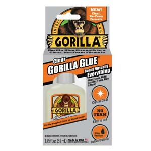 GORILLA GLUE CRYSTAL CLEAR, Tough, Indoor/Outdoor USE,Glass Wood Metal 50ml