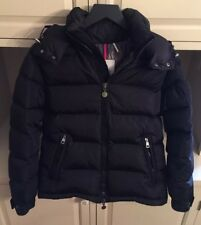 Authentic NWOT Men's Black Moncler Jacket Size 0 (XS)