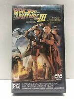 BACK TO THE FUTURE PART 3 VHS VIDEO CLASSIC 80's FILM MICHAEL J FOX