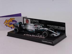 Minichamps 417191844 # Mercedes AMG F1 W10 EQ+ No.44 WC USA GP L. Hamilton 1:43