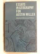 Essays in Geography for Austin Miller, Whittow, J.B & Wood, P.D, Good Book
