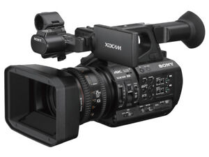 Sony 4K PXW-Z190 XAVC 60p XDCAM Memory Exmor R CMOS Sensor Camcorders  Battery