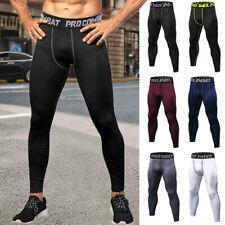 Para hombre de compresión Capa Base Pantalones Leggings Apretado Gimnasia Deportes Correr Pantalones de Estados Unidos