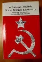 Russian - English Social Science Dictionary R E F Smith 1990