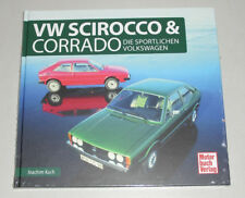 Bildband Schrader Typen Chronik VW Scirocco Typ 53 + 53 B & Corrado G60 VR6 1.8