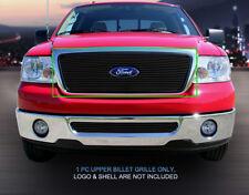 Fedar Fits 2004-2008 Ford F-150 Black Main Upper Billet Grille
