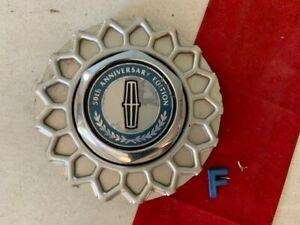 #F (1) 90-1997 LINCOLN CONTINENTAL TOWN CAR CENTER CAP  F0VC-1A096-AE 50th Anniv