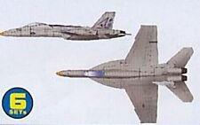 TRU06221 - Trumpeter 1:350 - Boeing F/A-18E Super Hornet (6 pcs)