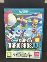 Nintendo Wii U game - New Super Mario Bros.U & Luigi.U - BS1