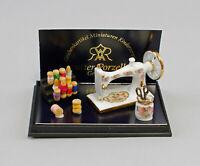 9911013 Reutter Puppenstuben-Miniatur Porzellan Nähmaschine