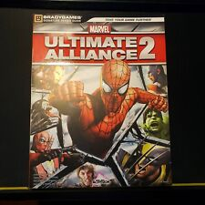 Ultimate Alliance 2 Marvel BradyGames 2009 Paperback Strategy Guide PS3 XBOX360