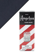 C-042 Angelus Permanent Leather Dye With Applicator 3Oz Navy Blue