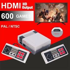 600 Games in 1 Classic Mini Game Console for NES Retro HDMI Gamepads US