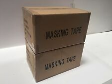 "General Purpose Masking Tape 1"" x 50m 2 Cases (96 Rolls) $0.86/rl Free Shipping"