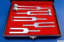 Hochwertiges spezial Stimmgabel-Set,Organe,tuning fork, 6 teilig, mit edler Box