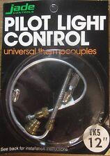 "Jade Controls 12"" Universal Pilot Light Thermocouple New Old Stock"
