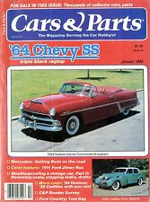 1985 CARS & PARTS MAGAZIN 1 HUDSON HORNET CONVERTIBLE BROUGHAM CADILLAC SIXTY