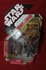 Star Wars Action Figure Romba and Graak Ewoks 30th Anniversary ROTJ - MOC