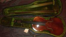 Unknown Vintage Violin With Case