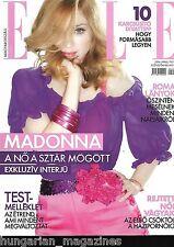 Elle Ungarn / Hungary Hungarian Magazine N 2006/04 - Madonna - Cover