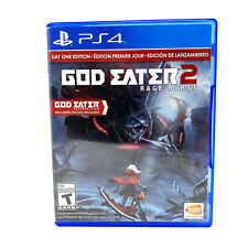 God Eater 2: Rage Burst - Day One Edition (Sony PlayStation 4, PS4) *TESTED*