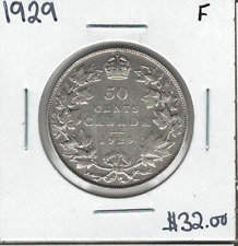 Canada 1929 50 Cents F