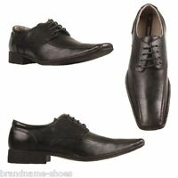 MENS JULIUS MARLOW JM33 JM VIKING BLACK FORMAL CASUAL LACE UP DRESS SHOES