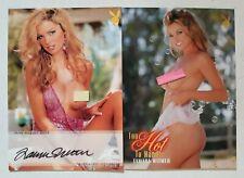 Tamara Witmer 2019 Playboy Autograph+2009 Insert Card
