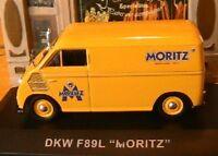 DKW F89L MORITZ JAUNE YELLOW 1/43 IXO ALTAYA DIE CAST fourgon tole GELB