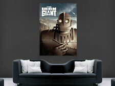 IRON GIANT movie poster film CINEMA CLASSICO WALL ART PICTURE PRINT LARGE