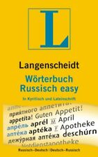Langenscheidt. Wörterbuch. Russisch easy - in Kyrillisch und Lateinschrift