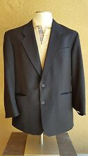 YVES SAINT LAURENT Men's Black-Brown Striped Wool 2 Button Sport Jacket Portugal