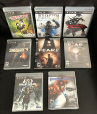 NEW! Syndicate Red Faction FEAR 2 3 Binary Domain Earth Defense Force PS3